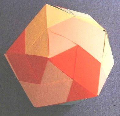 Continue reading. оригами - многогранник.