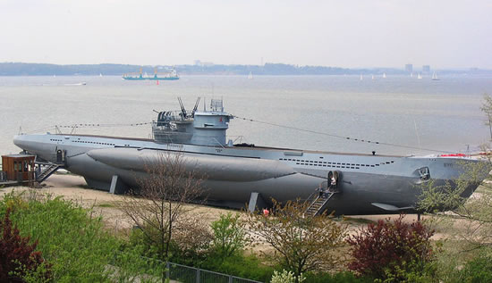 Германская подводная лодка времён