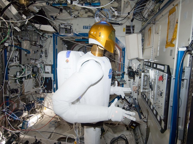 Robonaut, credit: NASA