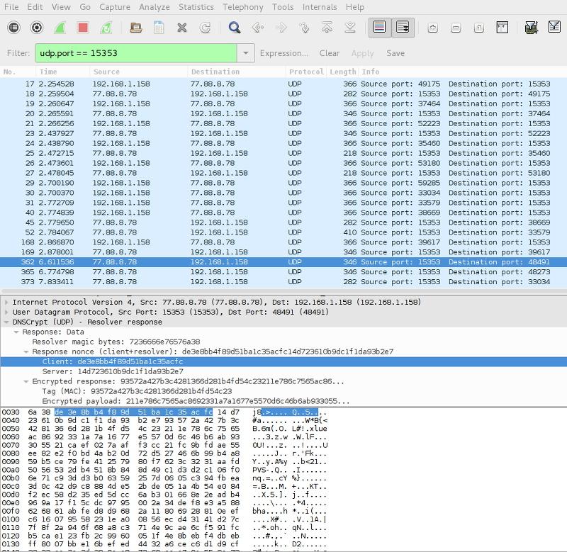 DNSCrypt dump